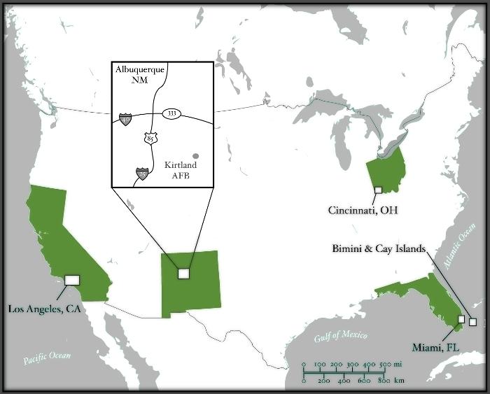 Main U S Map
